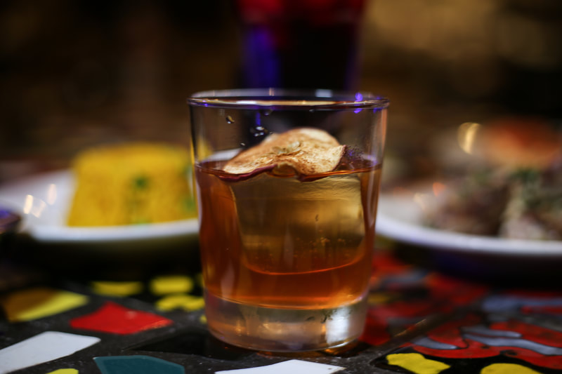 A picture of a Mercy Brown cocktail