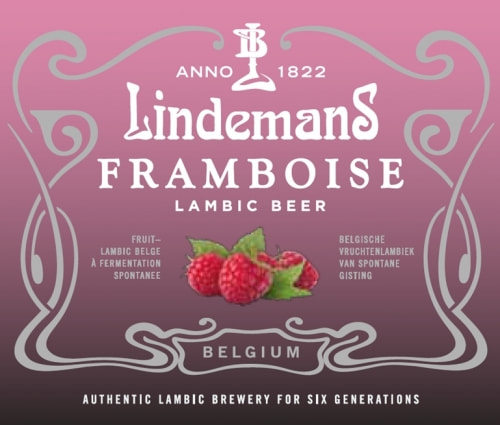 A picture of the label of the lambic offered for this selection